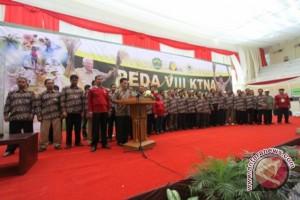 Peserta Peda KTNA Deklarasikan Dukung Pembangunan