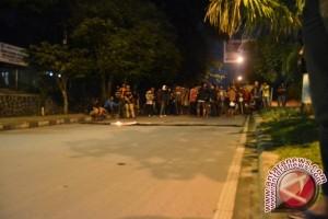 Unjuk Rasa Mahasiswa di Samarinda Berakhir Bentrok