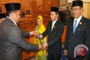 Ketua PN Lantik Pimpinan DPRD Kutai Timur