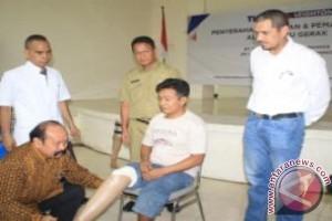 61 Penyandang Disabilitas Terima Alat Bantu Gerak