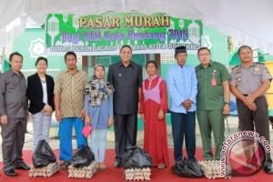 Pasar Murah Bontang Salurkan 5.601 Paket Sembako