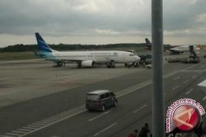 Kepadatan Penumpang Masih Terlihat di Bandara Sepinggan