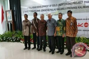 Penandatanganan Kontrak Pekerjaan Bentang Panjang Jembatan Pulau Balang