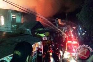 Kebakaran Hanguskan Sembilan Rumah di Balikpapan