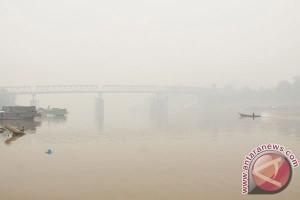 Kepekatan Kabut Asap di Samarinda Mulai Menurun