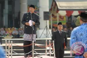 Wali Kota Pimpin Upacara HUT ke-16 Bontang