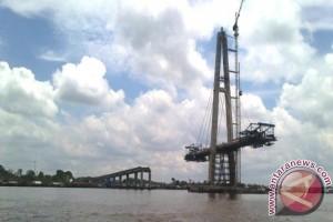 Jembatan Mahkota II Ditargetkan Selesai November