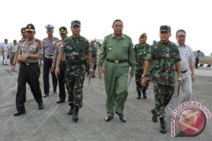 Pangdam-Kapolda Tinjau Persiapan Kedatangan Presiden di Bontang