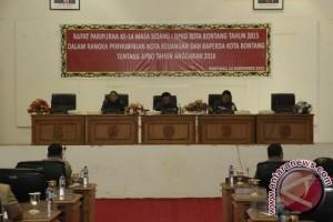 DPRD Bontang Gelar Paripurna Penyampaian Nota Pengantar RAPBD