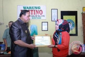 Pemkot Bontang Beri Penghargaan Wajib Pajak Teladan