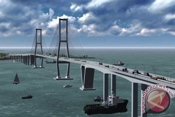 Anggaran Pembangunan Jembatan Tol Penajam-Balikpapan Membengkak