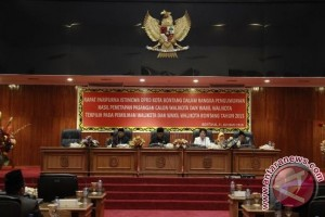 DPRD Bontang Tetapkan Wali Kota-Wawali Terpilih