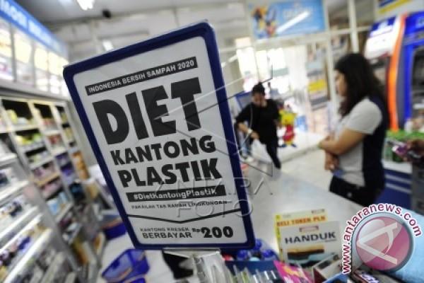 Peritel Modern Hentikan Kantong Plastik Berbayar