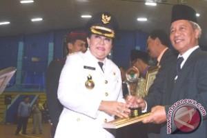 BKP3D Samarinda Raih  Dua Panji Keberhasilan
