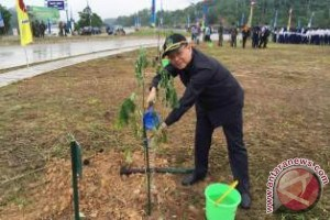 Anggota DPRD Apresiasi Gerakan Penghijauan Kodam Mulawarman