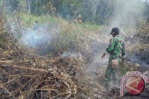 Danrem Menginstruksikan Bentuk Posko Kebakaran Hutan