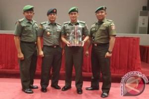 Pendam VI/Mulawarman Juara Pertama Satuan Penerangan Terbaik