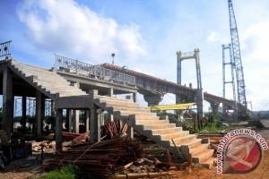 Chairil Anwar Ingatkan Kontraktor Pembangunan Jembatan Kumala