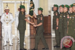 Pangdam Pimpin Sertijab Delapan Pejabat Kodam Mulawarman