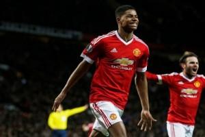 Manchester United bekuk Liverpool berkat dua gol Rashford
