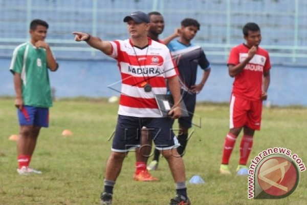 Madura United Bertekad Patahkan Rekor Kandang Borneo