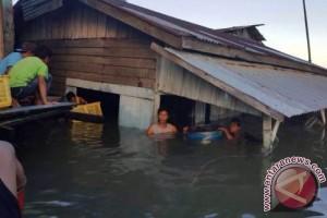 Abrasi Laut Tenggelamkan Rumah Warga di Balikpapan