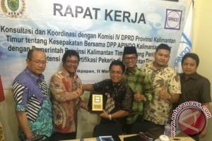 DPRD Kaltim Dukung Pembentukan Lembaga Sertifikasi Pekerja