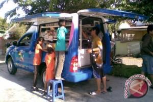 Mobil Perpustakaan Keliling Pinjamkan 1.170 Buku Perbulan