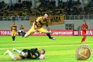 Mitra Kukar Tahan Bali United 1-1