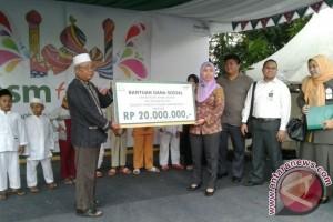 BSM Berikan Bantuan Kepada  100 Anak Yatim