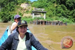 Pembangunan Jembatan Tering Kutai Barat Mangkrak