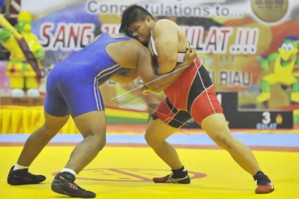Pelatih Gulat Uzbekistan Gelar Pelatihan di Kaltim