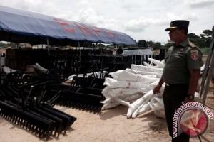 150 Personel Brigade Tanam TNI Diterjunkan di Penajam