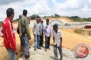 Pembangunan Bendungan Marangkayu Capai 40 Persen
