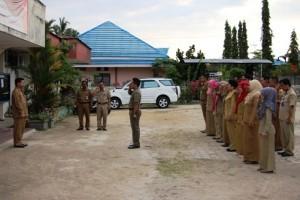Sekkab Penajam Sidak Kecamatan