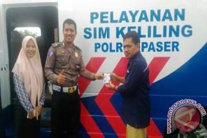 Pelayanan SIM Keliling di Paser Terkendala Jaringan
