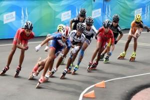 PON 2016 - DKI Jakarta Juara Umum Lomba Sepatu Roda