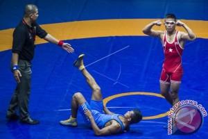Enam pegulat Kaltim masuk pelatnas Asian Games