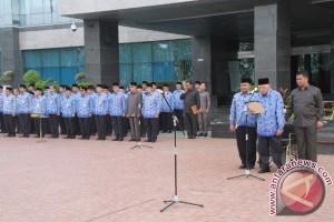 Gubernur Kaltim Ajak Pegawai Tegakkan Nilai Pancasila