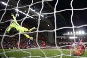 Penyelamatan Gemilang De Gea Bikin Liverpool Gigit Jari