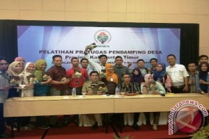 75 Pendamping Desa Kaltim Ikuti Pelatihan