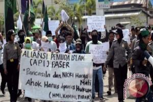 Aliansi Pemuda Islam Paser Gelar Aksi Damai