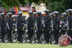 Empat SSK Brimob Kaltim Bantu Pengamanan Jakarta