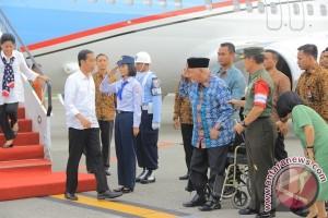 Presiden Jokowi Tiba di Balikpapan