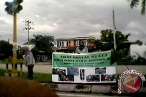 Mahasiswa Paser Galang Dana Korban Gempa Pidie