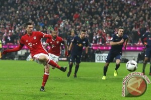 Bayern Muenchen Gebuk Leipzig untuk Amankan Puncak Klasemen