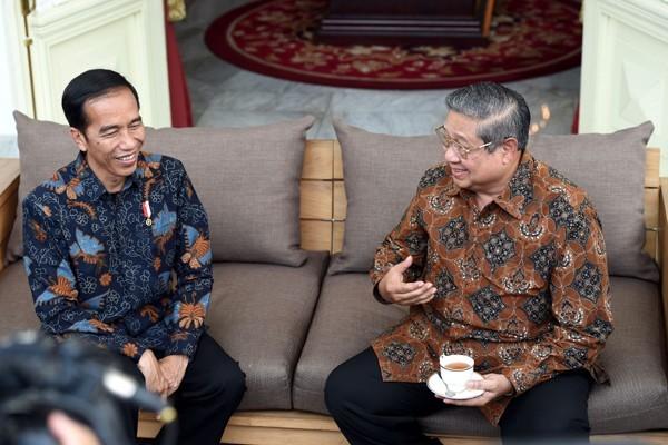 Jokowi: Saya dan SBY beda tipis