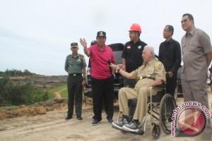 Gubernur Kaltim Pantau Pembangunan Infrastruktur di Penajam