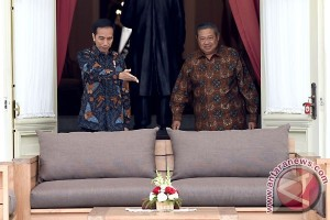 Presiden Joko Widodo Terima SBY