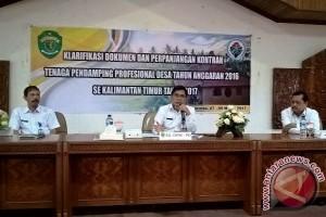 DPMPD Kaltim Ingatkan Pendamping Desa Tidak Berpolitik